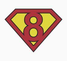 Superman 8 Kids Tee