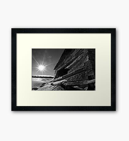The Passing of Time #1 Framed Print