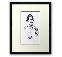 The lost and alone Framed Print