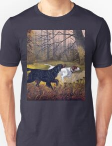 Vintage Dog painting T-Shirt