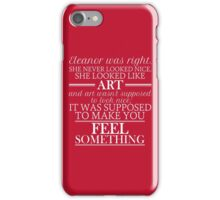 Eleanor and Park - Art (Inverted) iPhone Case/Skin