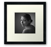 Her Eyes Framed Print