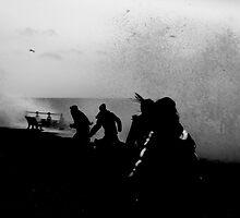 Big splash by Emma Bennett