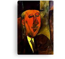 portrait of max jacobs Canvas Print