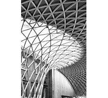 Kings Cross Station Ceiling Photographic Print