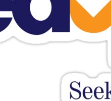 Fed Up?...Seek the Deliverer, Matthew 7:7 Sticker
