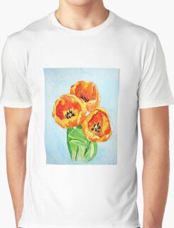 Beautiful Tulips Graphic T-Shirt