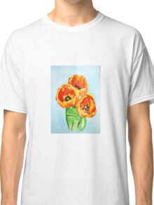 Beautiful Tulips Classic T-Shirt