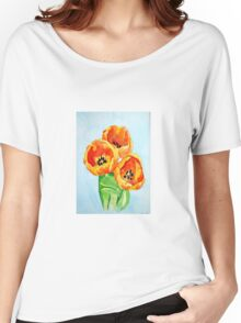 Beautiful Tulips Women's Relaxed Fit T-Shirt