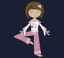 Yoga Girl One Piece - Short Sleeve