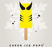 My SUPERHERO ICE POP - Wolverine by Chungkong