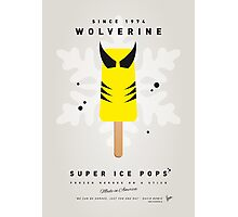 My SUPERHERO ICE POP - Wolverine Photographic Print