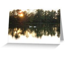Reflect Beauty Greeting Card