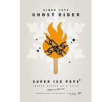 My SUPERHERO ICE POP - Ghost Rider Photographic Print