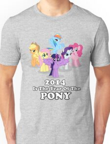 Year of the Pony Unisex T-Shirt