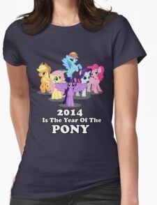 Year of the Pony Womens Fitted T-Shirt