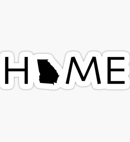 GEORGIA HOME Sticker