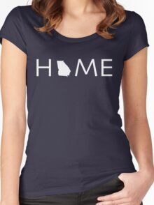 GEORGIA HOME Women's Fitted Scoop T-Shirt