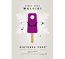 My NINTENDO ICE POP - Waluigi Photographic Print