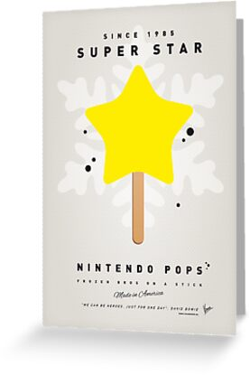 My NINTENDO ICE POP - Super Star by Chungkong
