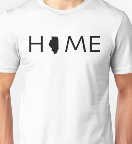 ILLINOIS HOME Unisex T-Shirt