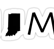 INDIANA HOME Sticker