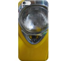 yellow scooter iPhone Case/Skin