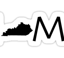 KENTUCKY HOME Sticker