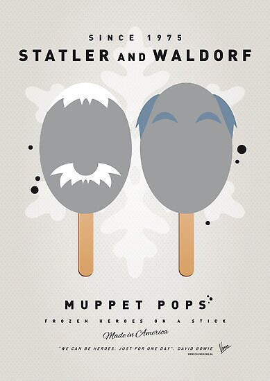My MUPPET ICE POP - Statler and Waldorf by Chungkong