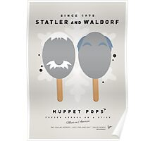 My MUPPET ICE POP - Statler and Waldorf Poster