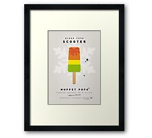 My MUPPET ICE POP - Scooter Framed Print