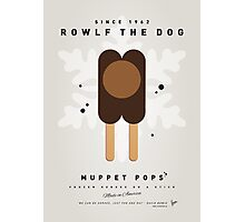 My MUPPET ICE POP - Rowlf Photographic Print