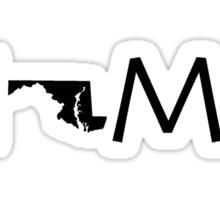 MARYLAND HOME Sticker