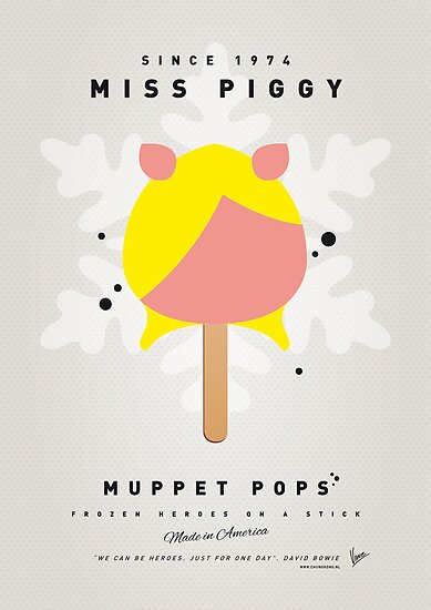 My MUPPET ICE POP - Miss Piggy by Chungkong
