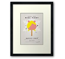My MUPPET ICE POP - Miss Piggy Framed Print