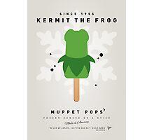 My MUPPET ICE POP - Kermit Photographic Print