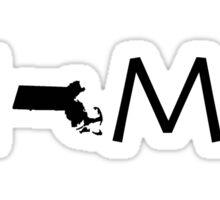 MASSACHUSETTS HOME Sticker