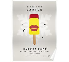 My MUPPET ICE POP - Janice Poster