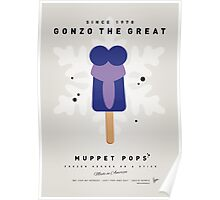 My MUPPET ICE POP - Gonzo Poster
