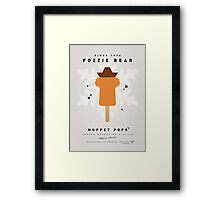 My MUPPET ICE POP - Fozzie Bear Framed Print