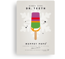My MUPPET ICE POP - Dr Teeth Canvas Print