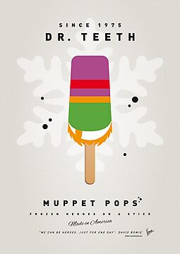 My MUPPET ICE POP - Dr Teeth by Chungkong