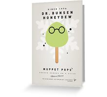 My MUPPET ICE POP - Dr Bunsen Honeydew Greeting Card