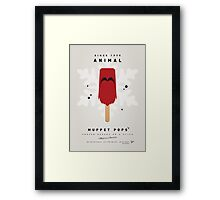 My MUPPET ICE POP - Animal Framed Print