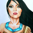 Pocahontas by weronikart