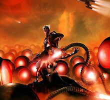 The Iron Beasts of Mars by simonbreeze