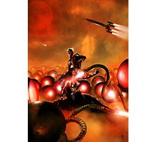The Iron Beasts of Mars Photographic Print