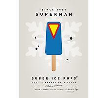 My SUPERHERO ICE POP - Superman Photographic Print