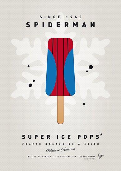 My SUPERHERO ICE POP - Spiderman by Chungkong