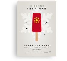 My SUPERHERO ICE POP - Iron Man Canvas Print